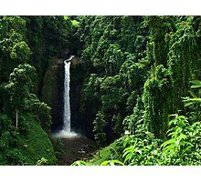 Sopoaga Falls Samoa Photographic Print