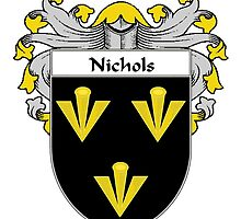 Nichols Coat of Arms/Family Crest by William Martin