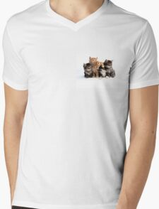 If you love cats Mens V-Neck T-Shirt