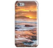 Frazer beach sunrise iPhone Case/Skin