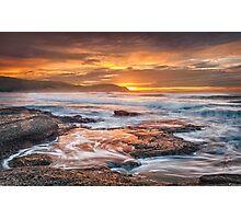 Frazer beach sunrise Photographic Print