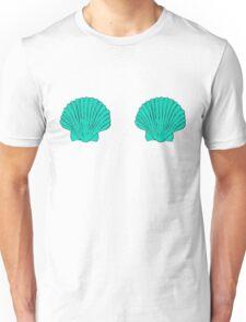 Mermaid Shell Bra Unisex T-Shirt