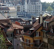 View Of Lausanne by davidandmandy