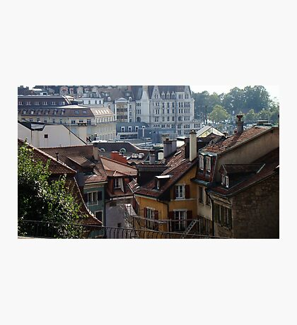 View Of Lausanne Photographic Print