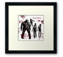 Zombie Fun Framed Print