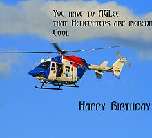 Helicopter Birthday by Heidi Foreman