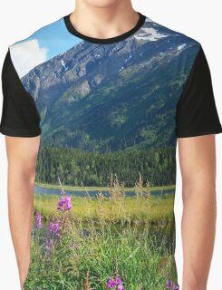 July at Tern Lake II Graphic T-Shirt