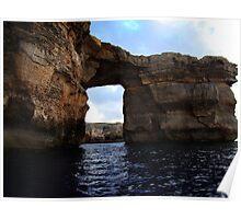 Azure Window Seaside Poster