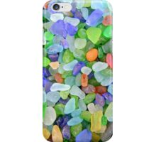 The Many Colors of Sea Glass iPhone Case/Skin