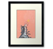 King Ichigo Framed Print