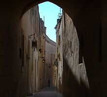 Mdina Backstreet by davidandmandy