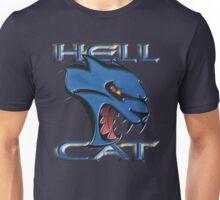 Hellcat Head - B5 Blue Unisex T-Shirt