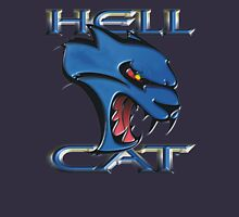 Hellcat Head - B5 Blue Unisex T-Shirt