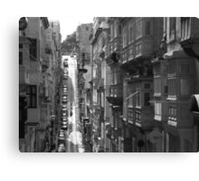 Hills And Balconies Canvas Print