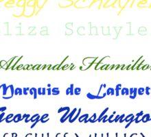 Hamilton Pride Sticker