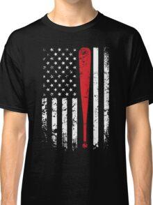 Baseball American Flag USA Support T-Shirt Classic T-Shirt