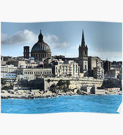 Valletta Waterfront Poster