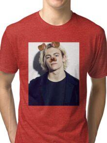 Ross Lynch - Snapchat Puppy Filter Tri-blend T-Shirt