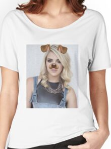 Rydel Lynch - Snapchat Puppy Filter Women's Relaxed Fit T-Shirt