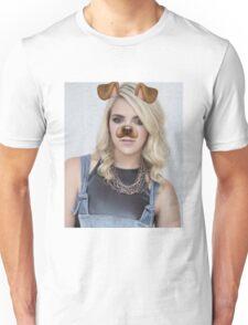 Rydel Lynch - Snapchat Puppy Filter Unisex T-Shirt