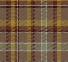 02566 Volusia County, Florida Fashion Tartan Sticker