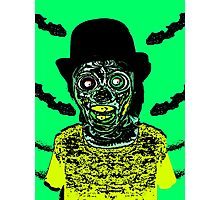 Zombie in a Top Hat Photographic Print