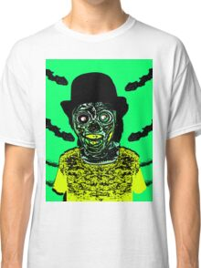 Zombie in a Top Hat Classic T-Shirt