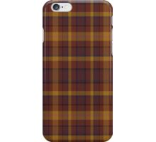 02565 Morris County, New Jersey Fashion Tartan  iPhone Case/Skin