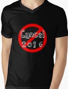 Cancel 2016 Mens V-Neck T-Shirt