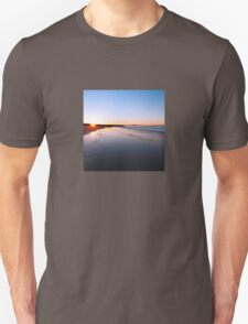 Where the sun hits the sky Unisex T-Shirt