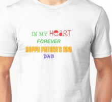 Father's Day quoted Design Unisex T-Shirt