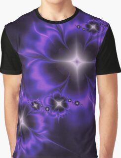 Fleur de Nuit Fractal Graphic T-Shirt