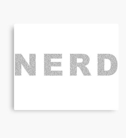 NERD Canvas Print