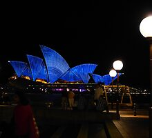 Sometimes the Opera House looks a bit vivid by PhotosByG