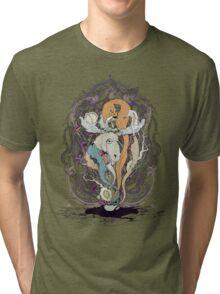 Hello Monsiuer Moose Tri-blend T-Shirt