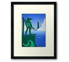 Zelda - The Wind Waker Framed Print