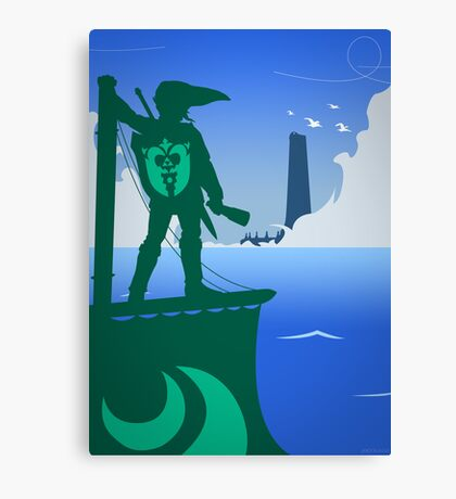 Zelda - The Wind Waker Canvas Print