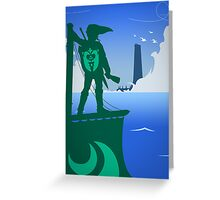 Zelda - The Wind Waker Greeting Card