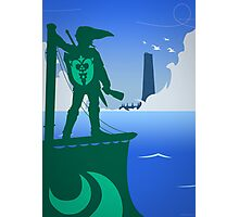 Zelda - The Wind Waker Photographic Print