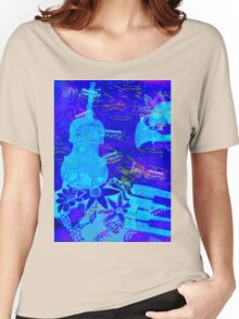 Playing the Blues  Women's Relaxed Fit T-Shirt