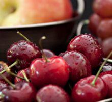 Buckets of Fresh Fruit Sticker