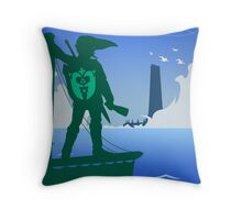 Zelda - The Wind Waker Throw Pillow