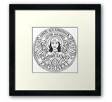 Patron Saint Of Fresh Meat Framed Print