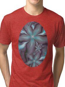 Aquafleur Fractal Tri-blend T-Shirt
