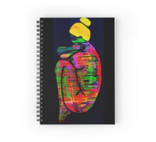 Weeping Woman Abstract Spiral Notebook