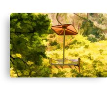 Lift in the Park Canvas Print