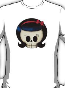 Sweet Rockabilly Girl Skull T-Shirt