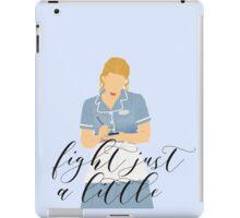 Waitress - Fight just a little iPad Case/Skin
