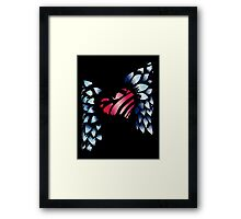 Winged Heart Framed Print