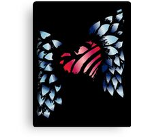 Winged Heart Canvas Print